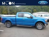 2019 Velocity Blue Ford F150 XLT SuperCab 4x4 #135314762