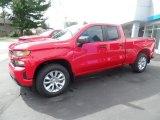 2020 Red Hot Chevrolet Silverado 1500 Custom Double Cab 4x4 #135314685
