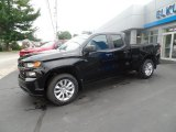 2020 Black Chevrolet Silverado 1500 Custom Double Cab 4x4 #135314684
