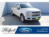 2019 White Platinum Ford F150 XLT SuperCrew #135328748