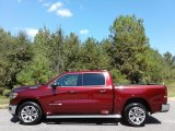 2019 Delmonico Red Pearl Ram 1500 Long Horn Crew Cab 4x4 #135328618
