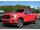 2019 Race Red Ford F150 STX SuperCab 4x4 #135328608