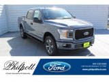 2019 Abyss Gray Ford F150 STX SuperCrew 4x4 #135328755