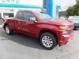 2020 Cajun Red Tintcoat Chevrolet Silverado 1500 Custom Double Cab 4x4 #135328681