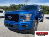 2019 Velocity Blue Ford F150 STX SuperCrew 4x4 #135347837