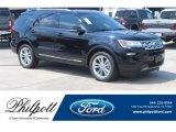 2019 Agate Black Ford Explorer XLT #135361006
