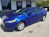 2013 Deep Impact Blue Metallic Ford Fusion SE #135383240