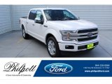 2019 White Platinum Ford F150 Platinum SuperCrew #135383135