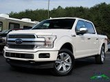 2019 White Platinum Ford F150 Platinum SuperCrew 4x4 #135400292