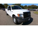 2014 Oxford White Ford F150 XL SuperCab 4x4 #135400427