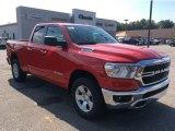 2020 Flame Red Ram 1500 Big Horn Quad Cab 4x4 #135412445