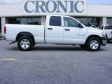 2006 Bright White Dodge Ram 1500 ST Quad Cab #13523641