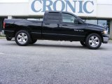 2004 Black Dodge Ram 1500 SLT Quad Cab #13523633