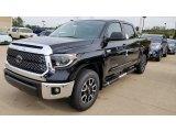 2020 Midnight Black Metallic Toyota Tundra SR5 CrewMax 4x4 #135434688