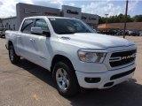2020 Bright White Ram 1500 Big Horn Crew Cab 4x4 #135434678
