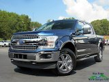 2019 Blue Jeans Ford F150 Lariat SuperCrew 4x4 #135434511