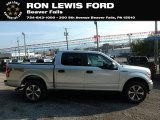 2019 Ingot Silver Ford F150 STX SuperCrew 4x4 #135434576
