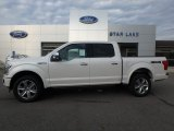 2019 White Platinum Ford F150 Platinum SuperCrew 4x4 #135449809