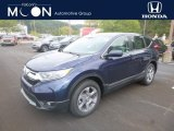 2019 Obsidian Blue Pearl Honda CR-V EX AWD #135449673