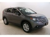 2014 Polished Metal Metallic Honda CR-V EX AWD #135469747