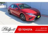 Supersonic Red Toyota Camry in 2019