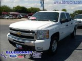 2008 Summit White Chevrolet Silverado 1500 LT Crew Cab 4x4 #13531294