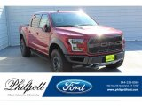 2019 Ruby Red Ford F150 SVT Raptor SuperCrew 4x4 #135469648