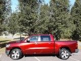 2020 Delmonico Red Pearl Ram 1500 Laramie Crew Cab 4x4 #135469428