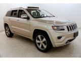 2014 Cashmere Pearl Jeep Grand Cherokee Overland 4x4 #135469723