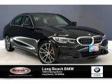2019 Jet Black BMW 3 Series 330i Sedan #135469666