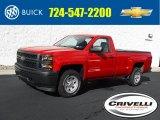 2015 Victory Red Chevrolet Silverado 1500 WT Regular Cab 4x4 #135490546