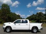 2020 Bright White Ram 1500 Big Horn Crew Cab 4x4 #135490321