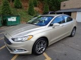 2017 White Gold Ford Fusion SE AWD #135490470