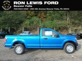 2019 Velocity Blue Ford F150 XL Regular Cab #135490420