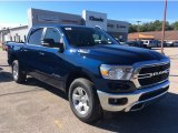 2020 Patriot Blue Pearl Ram 1500 Big Horn Crew Cab 4x4 #135509889