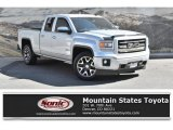 2014 Quicksilver Metallic GMC Sierra 1500 SLT Double Cab 4x4 #135515457