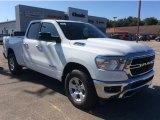 2020 Bright White Ram 1500 Big Horn Quad Cab 4x4 #135530406