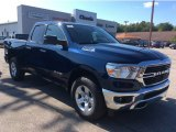 2020 Patriot Blue Pearl Ram 1500 Big Horn Quad Cab 4x4 #135530405