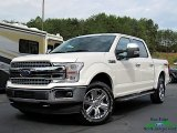 2019 White Platinum Ford F150 Lariat SuperCrew 4x4 #135530208