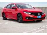 2019 Rallye Red Honda Civic Sport Sedan #135530322