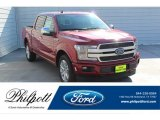 2019 Ruby Red Ford F150 Platinum SuperCrew #135548936