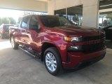 2020 Cajun Red Tintcoat Chevrolet Silverado 1500 Custom Crew Cab 4x4 #135549097
