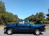 2020 Patriot Blue Pearl Ram 1500 Big Horn Quad Cab 4x4 #135548799
