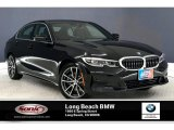 2019 Jet Black BMW 3 Series 330i Sedan #135548955