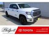 2020 Super White Toyota Tundra TSS Off Road CrewMax 4x4 #135548953