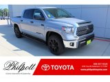 2020 Cement Toyota Tundra TSS Off Road CrewMax #135548952