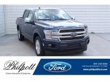 2019 Blue Jeans Ford F150 Platinum SuperCrew #135570706