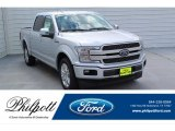 2019 Ingot Silver Ford F150 Platinum SuperCrew #135570705