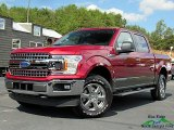 2019 Ruby Red Ford F150 XLT SuperCrew 4x4 #135570516
