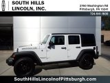 2017 Bright White Jeep Wrangler Unlimited Freedom Edition 4x4 #135592148